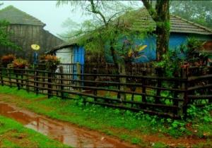 Typical House in Monsoon - Agumbe