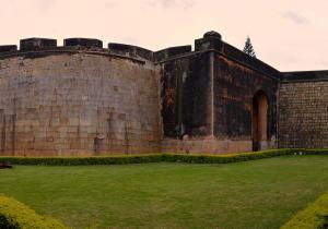 Panoramic View - Bangalore Fort