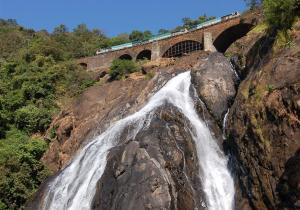 View From Low Heigth - Dudhsagar Falls