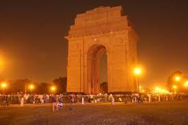 Evening view - India Gate