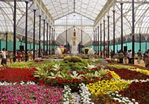 Flower Exhibition at Lalbagh - Lalbagh Botanical Garden