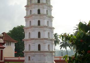 Lamp Tower - Shanta Durga Temple