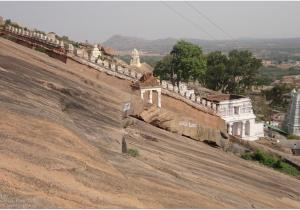 Inclined View - Shivaganga Hill