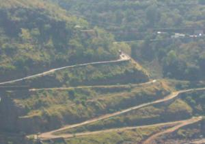 Road Curves - Srisailam