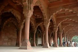 Inside view - The Red Fort